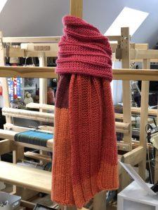 flat rib scarf