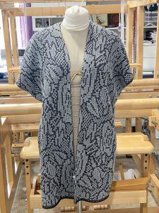 passap machine knit kimono