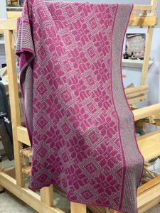 passap machine knit blanket